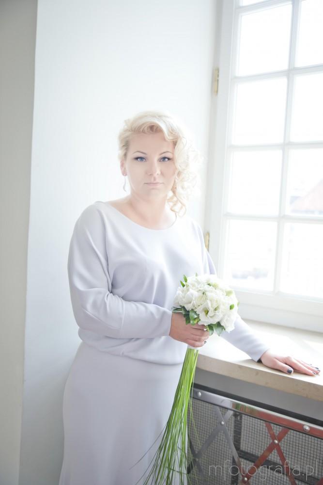 sesja ślubna w Pałacu Ślubów w Warszawie