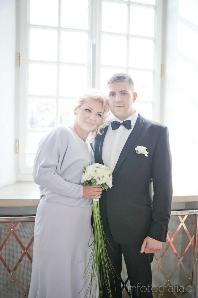 fotografia ze ślubu w pałacu ślubów w Warszawie
