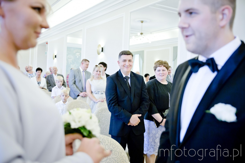 zdjęcia ślubne w Pałacu Ślubów w Warszawie