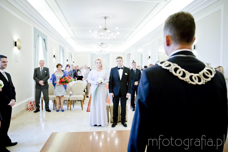 Ślub Cywilny w Pałacu Ślubów w Warszawie