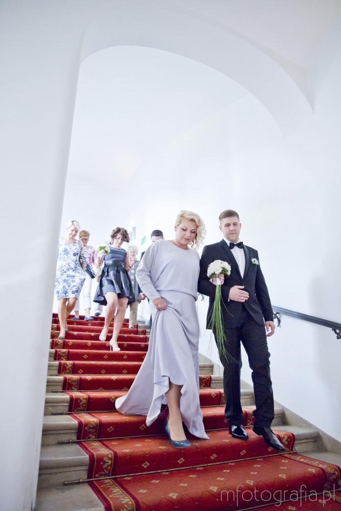 zdjęcia ślubne w Pałacu Ślubów Warszawa