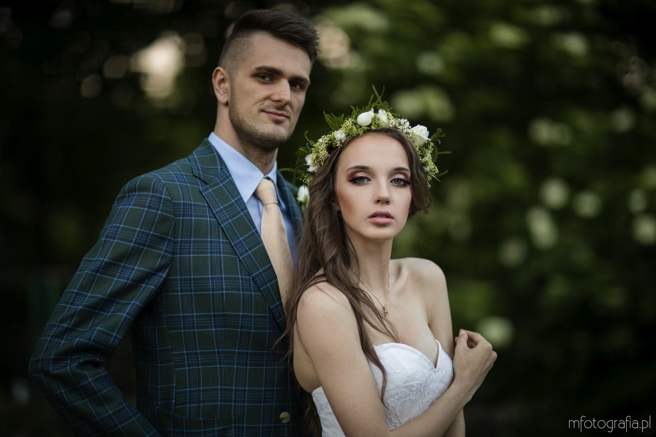 sesja ślubna para młoda plener