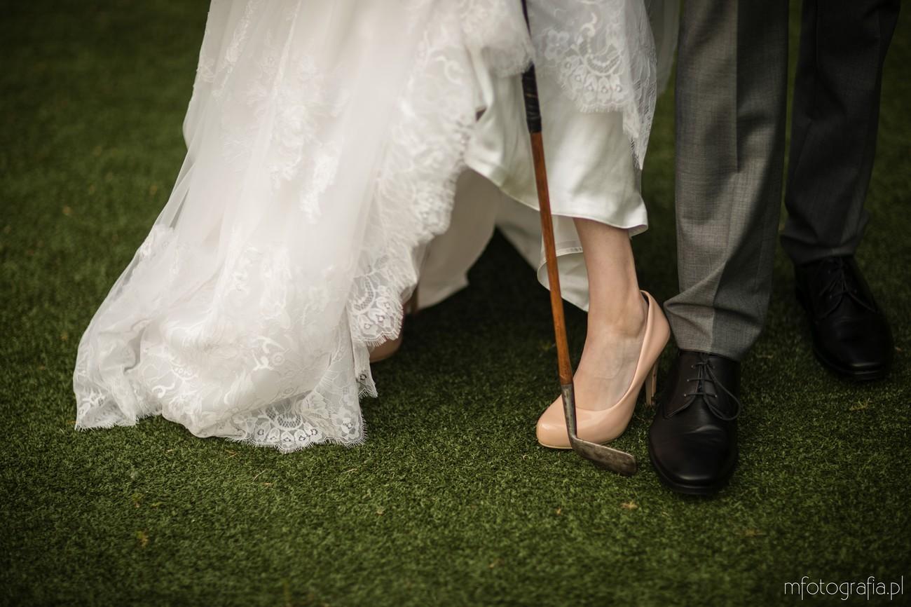 ślub i golf dodatki