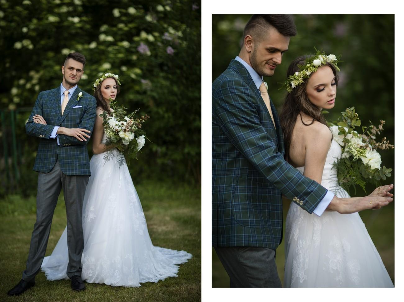 sesja ślubna stroje i biżuteria