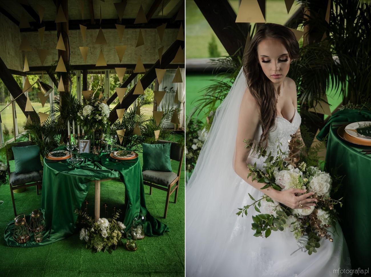 zielone wesele