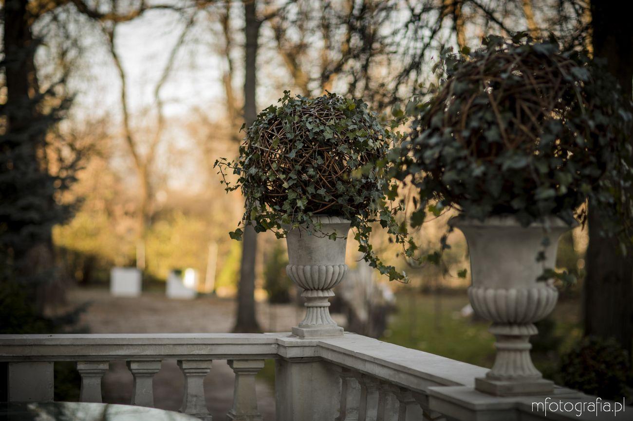 Pałacowy ogród w Endorfinie