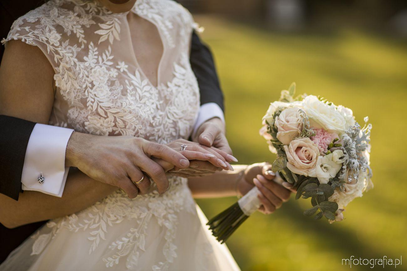romantyczne detale ślubne